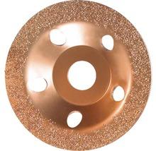 Carbide-Topfscheibe 115 x 22,23 mm fein, flach