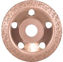 Carbide-Topfscheibe 115 x 22,23 mm;fein, schräg