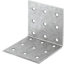 Lochplattenwinkel 60 x 60 x 60 mm, sendzimirverzinkt, 1 Stück