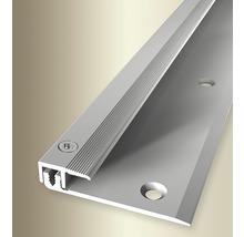 Endprofil 377V Alu eloxiert silber 100 cm