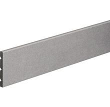 Sockelleiste PVC tile-fix Fliese dunkelgrau KU06 87,6x67,6x2400 mm
