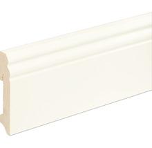 Sockelleiste Fichte/Kiefer weiß lackiert RAL9010 L0089L 18x96x2400 mm