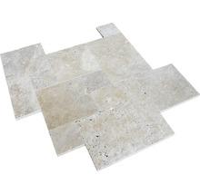 Naturstein Wand- und Bodenfliese Bari römischer Verband 1,2 cm