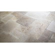 Naturstein Wand- und Bodenfliese Napoli römischer Verband 1,2 cm