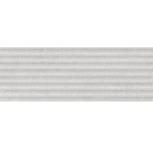 Steingut Wandfliese Momentum Structure Grey 25x70cm