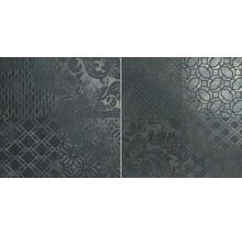 Feinsteinzeug Wand- und Bodenfliese Basalto lava Romance 45x45cm rektifiziert