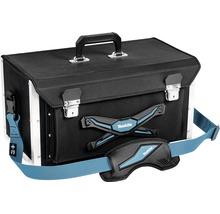 Verstärkter Werkzeugkoffer verstellbar Makita blau/schwarz, 505x295x265 mm, 32,0 l