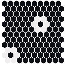 Glasmosaik Hexagon Pattern 2 29x30 cm