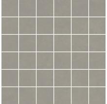 Feinsteinzeugmosaik Optimum grau 30 x 30 cm