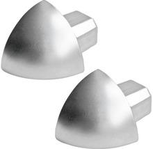 Aussenecke Dural Durondell Alu Silber 6mm, 2 ST