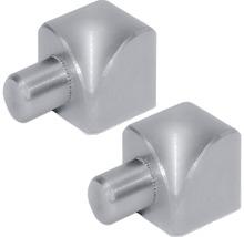 Innenecke Dural Durondell Alu Silber 6mm, 2 ST