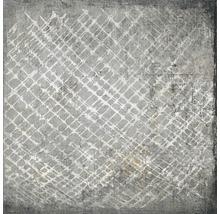 Feinsteinzeug Wand- und Bodenfliese Faber Acciaio 25x25 cm