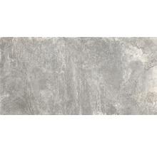 Feinsteinzeug Wand- und Bodenfliese Schiefer grau 60x12 cm