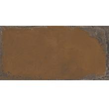 Wand- und Bodenfliese Metall orange 60x120 cm