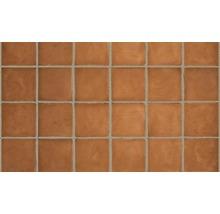 Terracotta Wand- und Bodenfliese Dublin orange, 200x200x18 mm