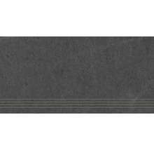 Stufenfliese Steuler Kalmit graphit 30x60 cm