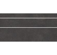 Bodenfliese Steuler Homebase anthrazit 30x60 cm