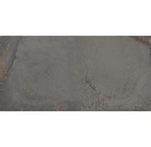 Wand- und Bodenfliese Metall grau 60x120 cm