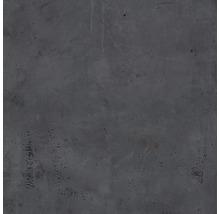 Wand- und Bodenfliese Metall dunkelgrau 60x60 cm