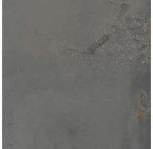 Wand- und Bodenfliese Metall grau 60x60 cm