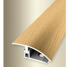 Ausgleich 556H Alu mit Holzdekor Eiche hell 200 cm