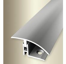 Ausgleichsprofil 559 Alu eloxiert silber 100 cm