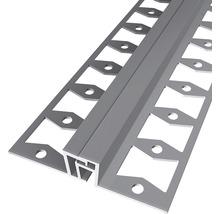 Bewegungsfugenprofil 323GAlu eloxiert edelstahl 270 cm