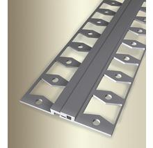 Bewegungsfugenprofil 317G Alu eloxiert silber 270cm