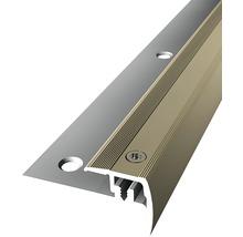 Treppenkantenprofil 325V Alu eloxiert sand 100