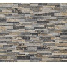 Feinsteinzeug Verblender Oakland Stone multicolor 15x61 cm