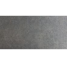 Wand- und Bodenfliese Sandstein schwarz 40x80 cm R11