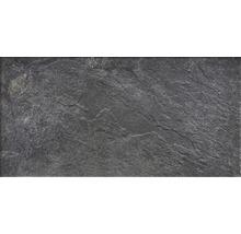 Wand- und Bodenfliese Schiefer dark 30,5x60,5 cm R11