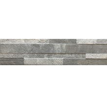 Feinsteinzeug Verblender Vesuvio grau 15x61 cm