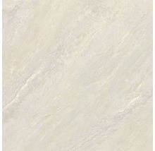 Feinsteinzeug Terrassenplatte Ultra Aspen bianco 60x60x2 cm rektifiziert