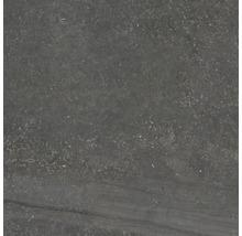 Wand- und Bodenfliese EcoStone antracite 60x60 cm R11