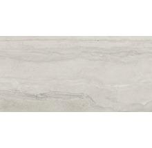 Wand- und Bodenfliese Memento Travertino grey 60x120 cm