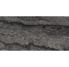 Wand- und Bodenfliese Memento Travertino black 30x60 cm