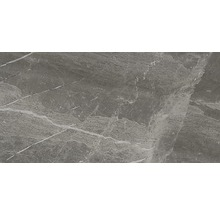 Wand- und Bodenfliese Nuance anthracite lappato 29,5x59 cm