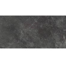 Wand- und Bodenfliese Vision black 59x118 cm poliert