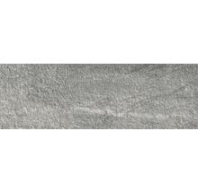 Feinsteinzeug Terrassenplatten Roccia grigio 40x120 cm