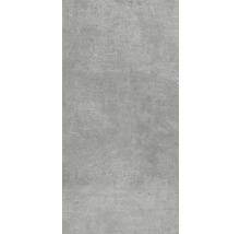 XXL Wand- und Bodenfliese Industrial Steel anpoliert 120 x 260 cm