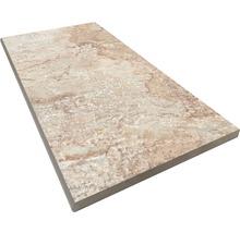 Beckenrandstein Rundform Slate grey 30x60 cm