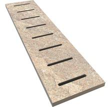 Überlaufgitter Slate grey 14,5x60 cm