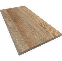 Beckenrandstein Rundform Ultra Wood 30x60 cm