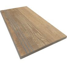 Stufenplatte abgerundet Ultra Wood 30x60 cm