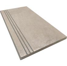 Stufenplatte abgerundet Gare du Nord sand 30x60 cm