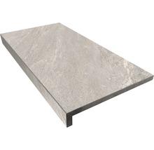 Beckenrandstein L-Form Aspen grigio 30x60x5 cm