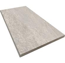 Beckenrandstein Rundform Aspen grigio 30x60 cm