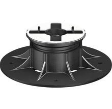 Stelzlager für Aluschiene Eterno Ivica SE1 37,5-50 mm höhenverstellbar / selbstnivellierend
