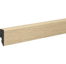 Sockelleiste KU048L PVC ummantelt Eiche 15x38,5x2400mm